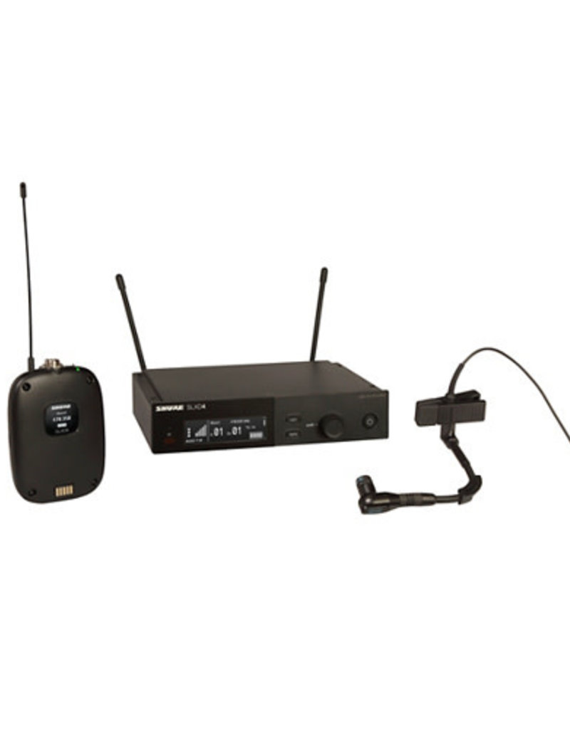 Shure Shure SLXD14/98H Combo Wireless Microphone System- Band G58