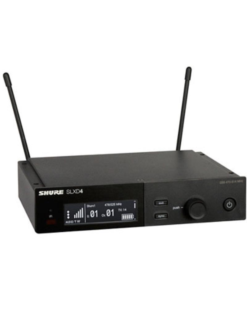 Shure Shure SLXD4 Digital Wireless Receiver  Band G58