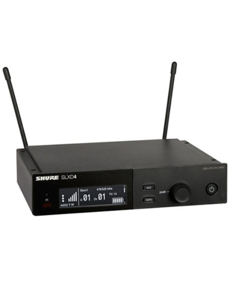Shure Shure SLXD4 Digital Wireless Receiver  Band J52