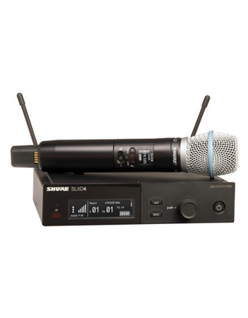 Shure Shure SLXD24/B87A Wireless Microphone System  Band H55