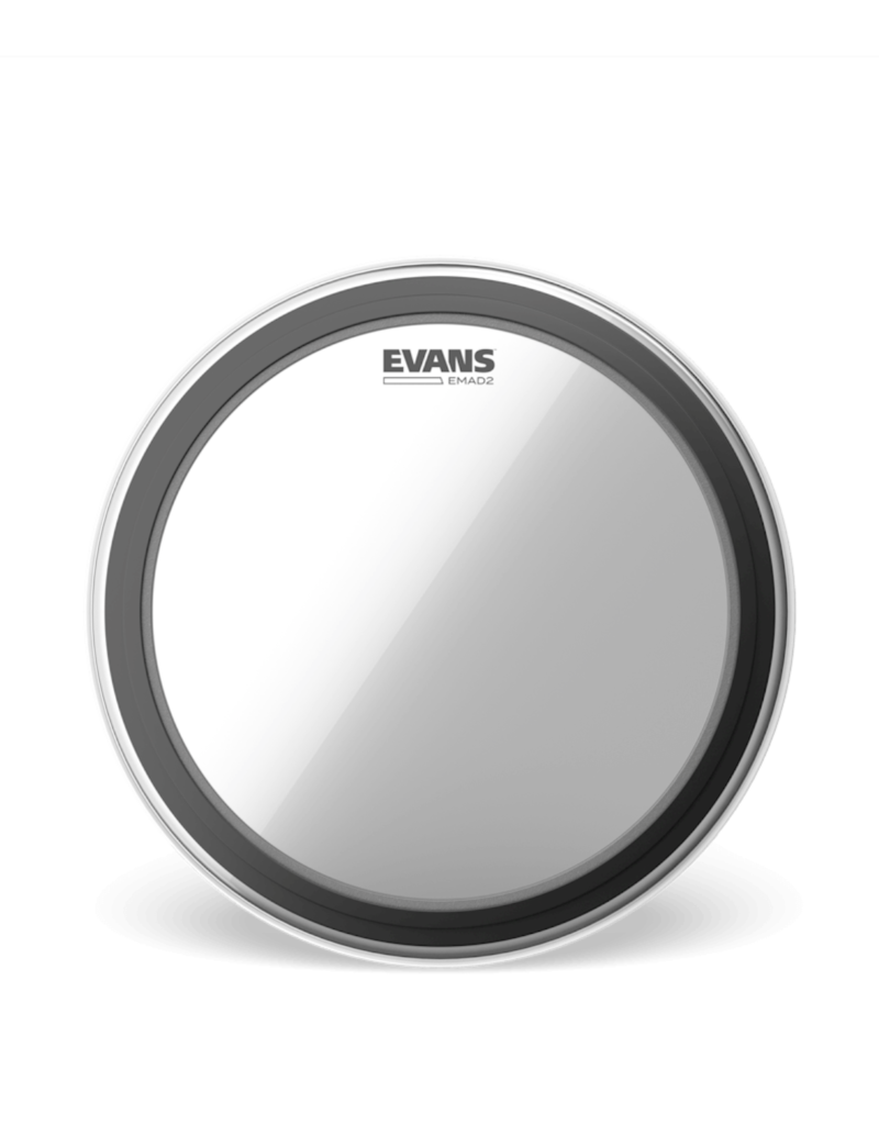 "Evans Evans EMAD 2 24"" Bass Drumhead Clear"