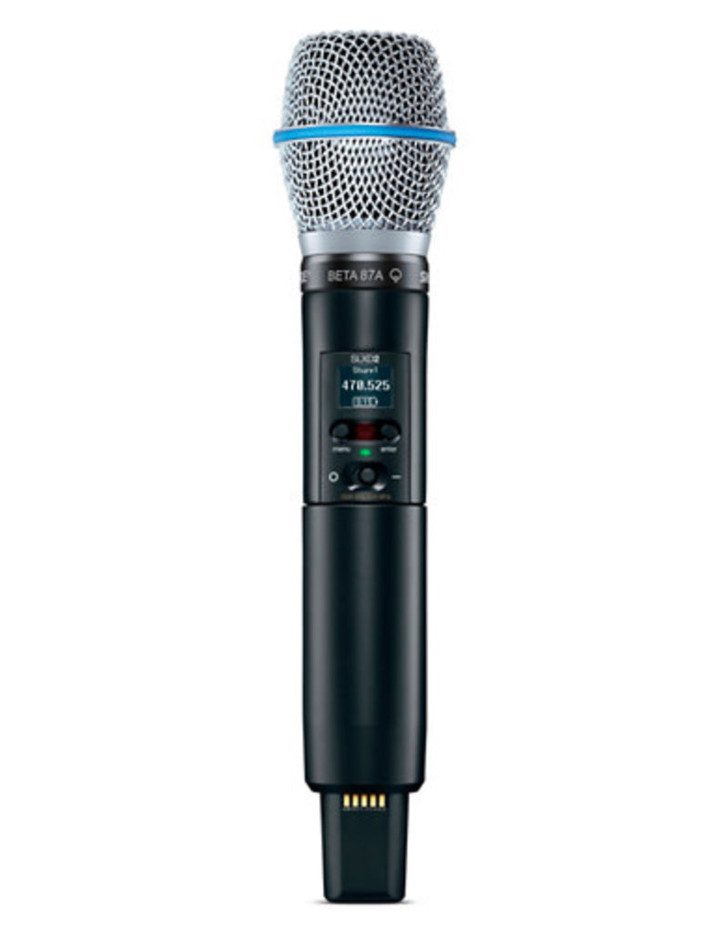 Shure Shure SLXD2/B87A Handheld Transmitter with Beta 87A Capsule  Band H55