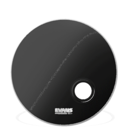"Evans Evans EMAD RESONANT 22"" Bass Drumhead"