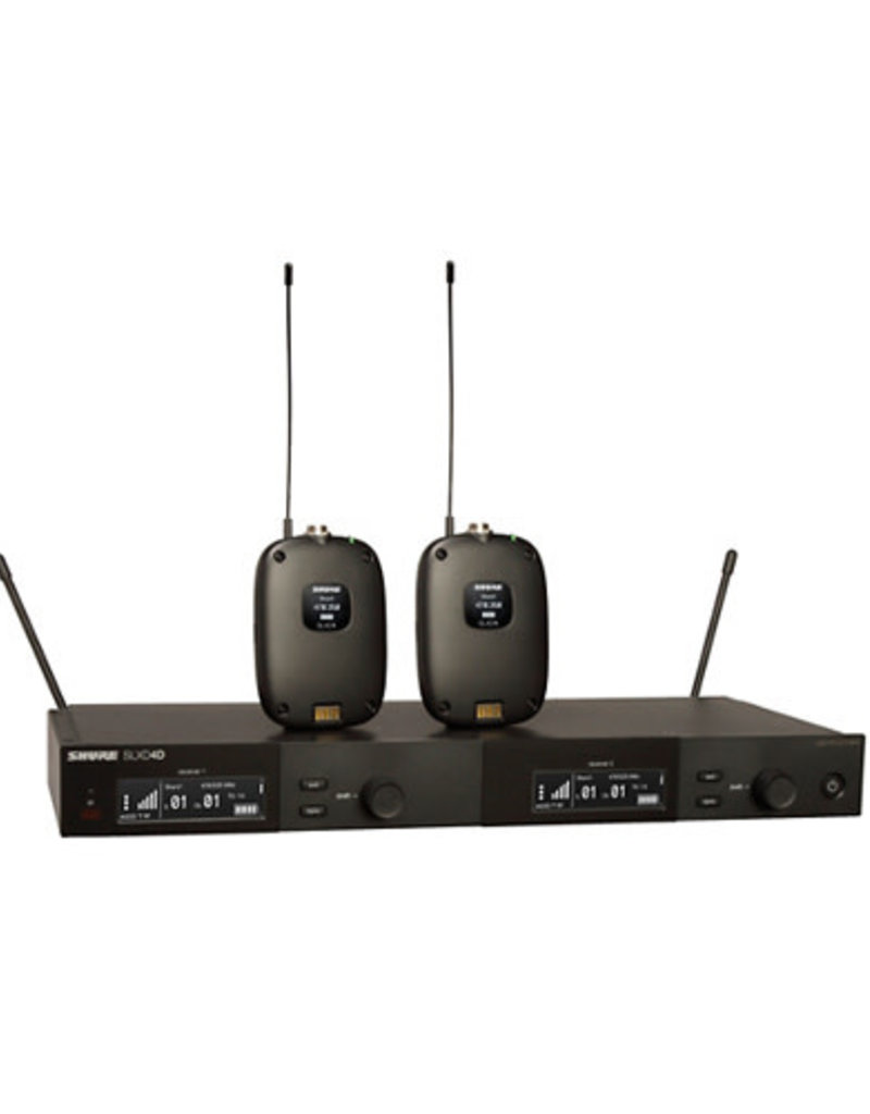 Shure Shure SLXD14D Dual Combo Wireless Microphone System  Band H55