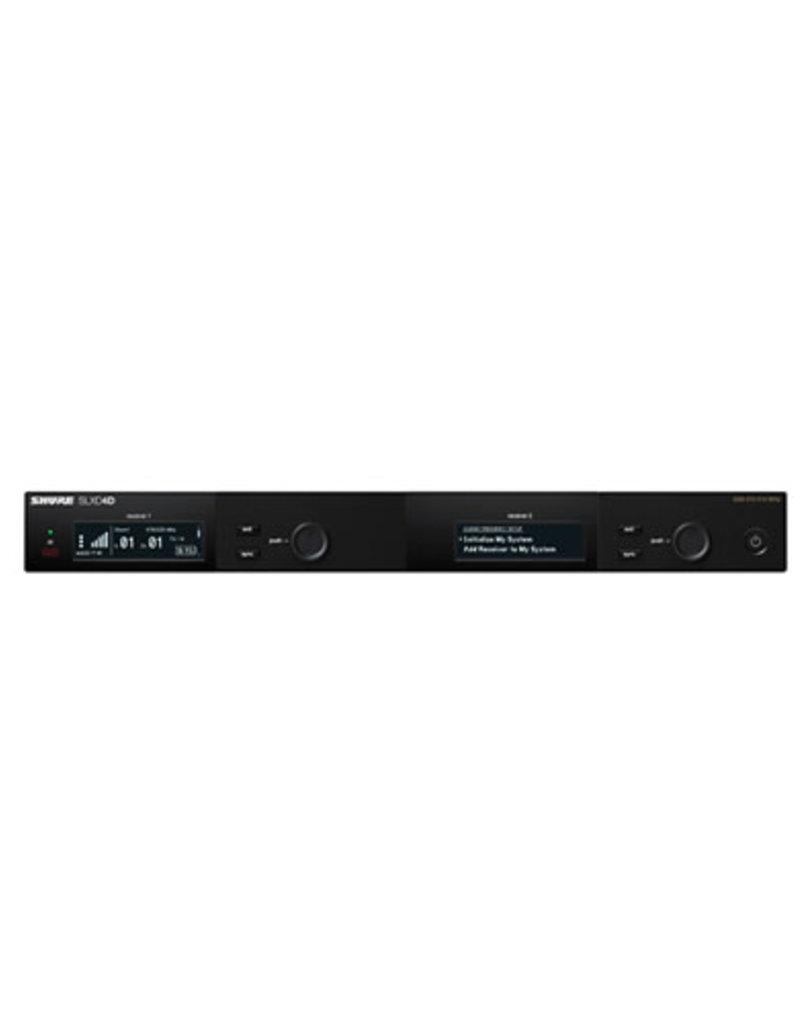 Shure Shure SLXD4D Dual-Channel Digital Wireless Receiver  Band G58