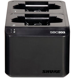 Shure Shure SBC203-US Dual Docking Station for SLX-D Transmitters and SB903 Battery