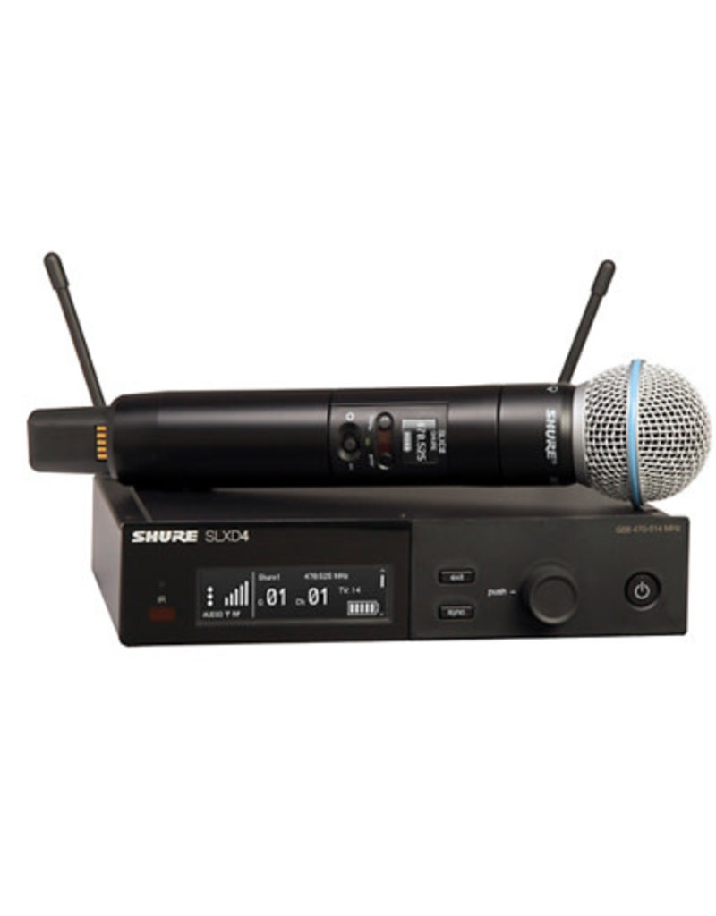 Shure Shure SLXD24/B58 Wireless Vocal System with BETA 58  Band G58