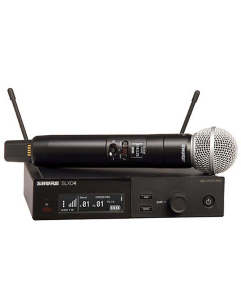 Shure Shure SLXD24/SM58 Wireless Vocal Microphone System with SM58  Band H55