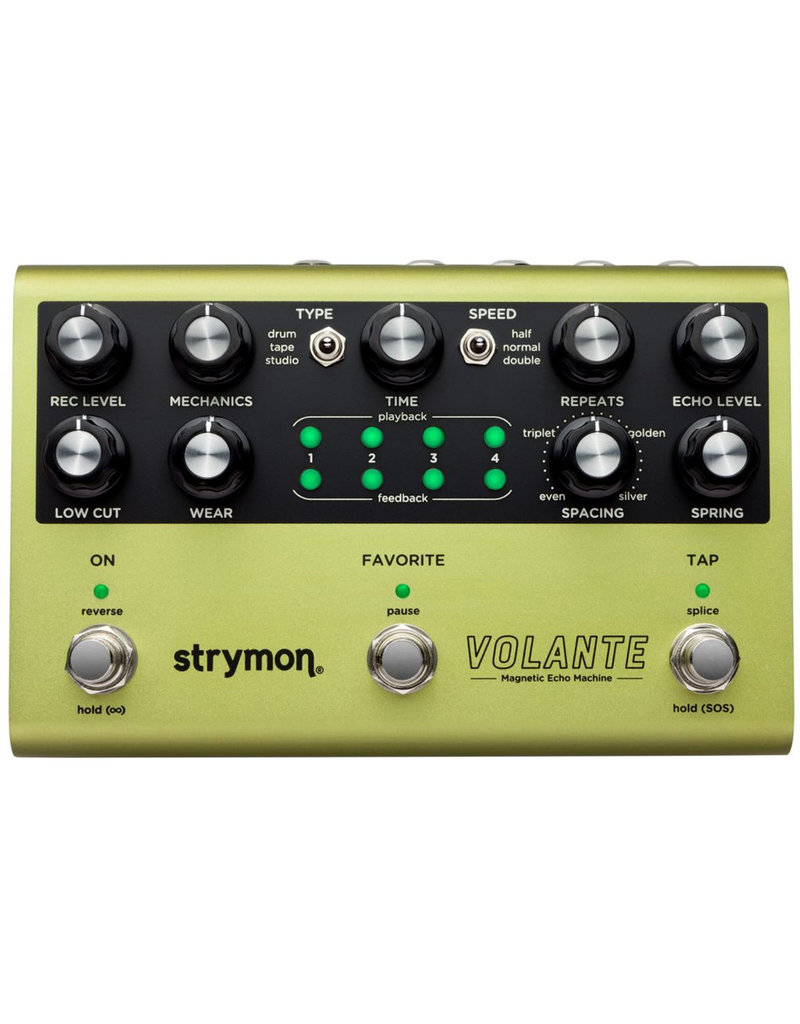 Strymon Strymon Volante Magnetic Echo Machine Effects Pedal
