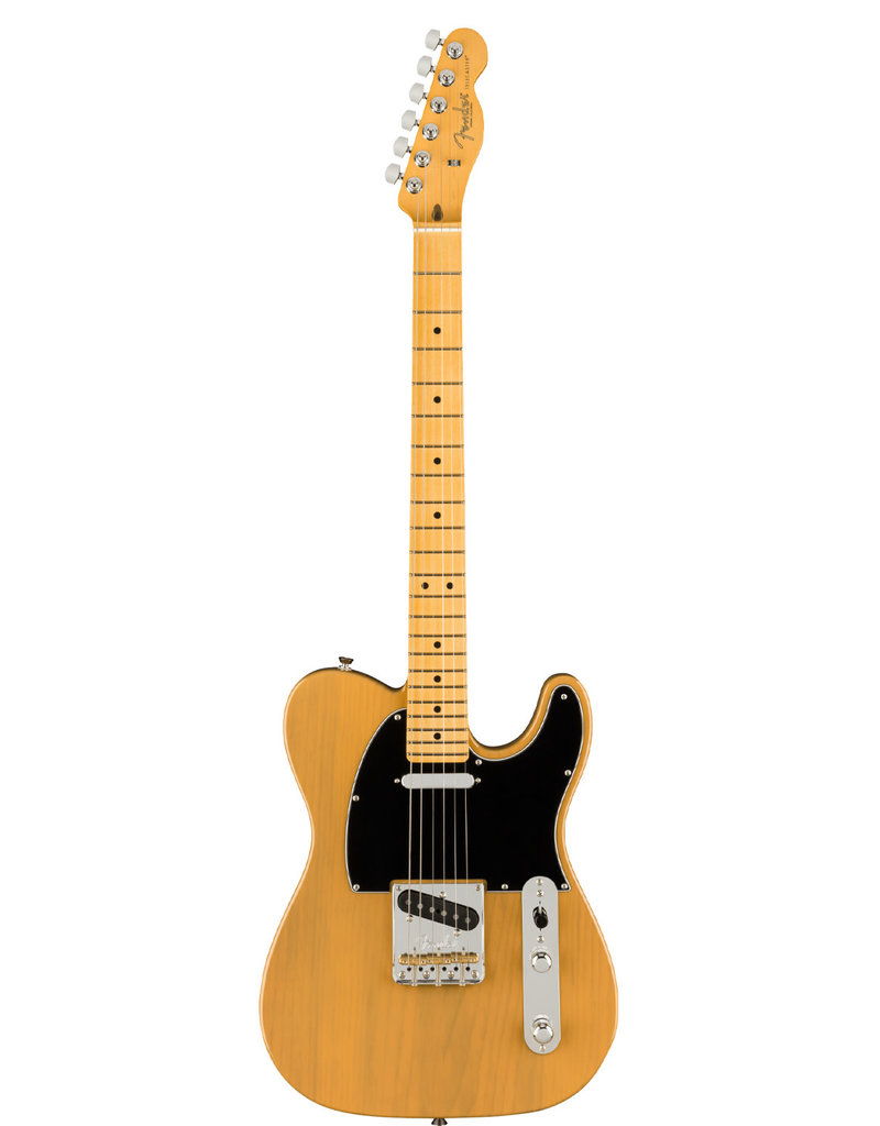 Fender Fender American Professional II Telecaster®, Maple Fingerboard, Butterscotch Blonde