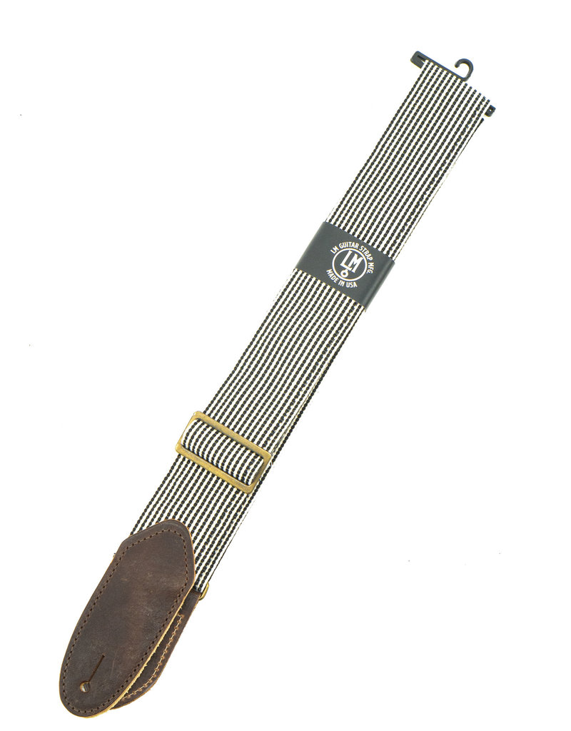 "LM Products STR-BK 2"" Striped Guitar Strap"