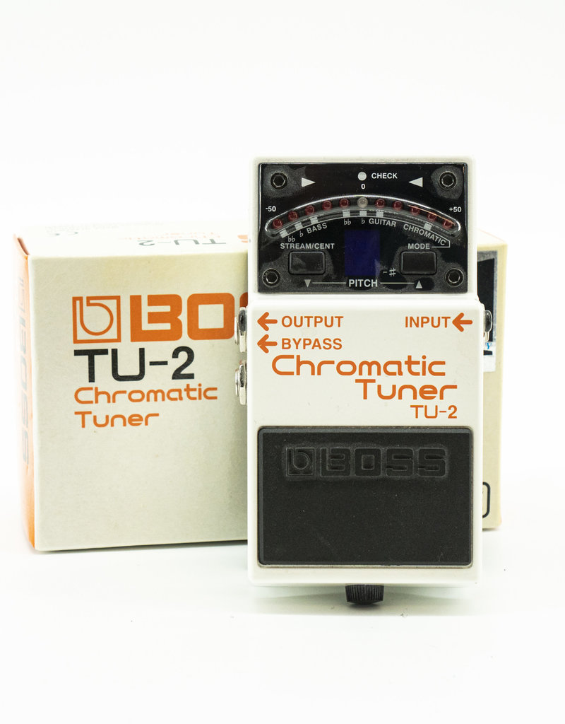 Boss Used Boss TU-2 Tuner Pedal