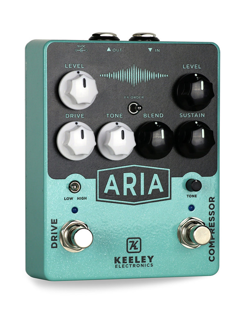 Keeley Keeley Aria Compressor and Overdrive Pedal