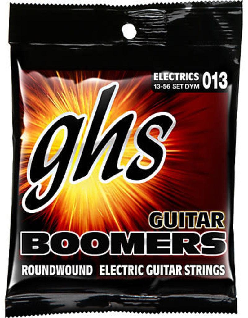 GHS Electric Boomers DYM Medium Guitar Strings (.013-.056)
