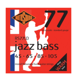 Rotosound RS77LD Monel Flatwound Bass Strings .45-.105