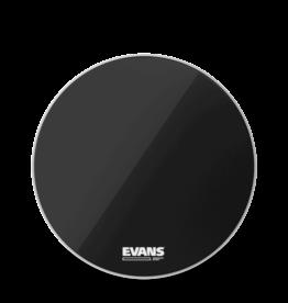 """Evans Evans RESONANT BLACK 22"""" Bass Drumhead"""