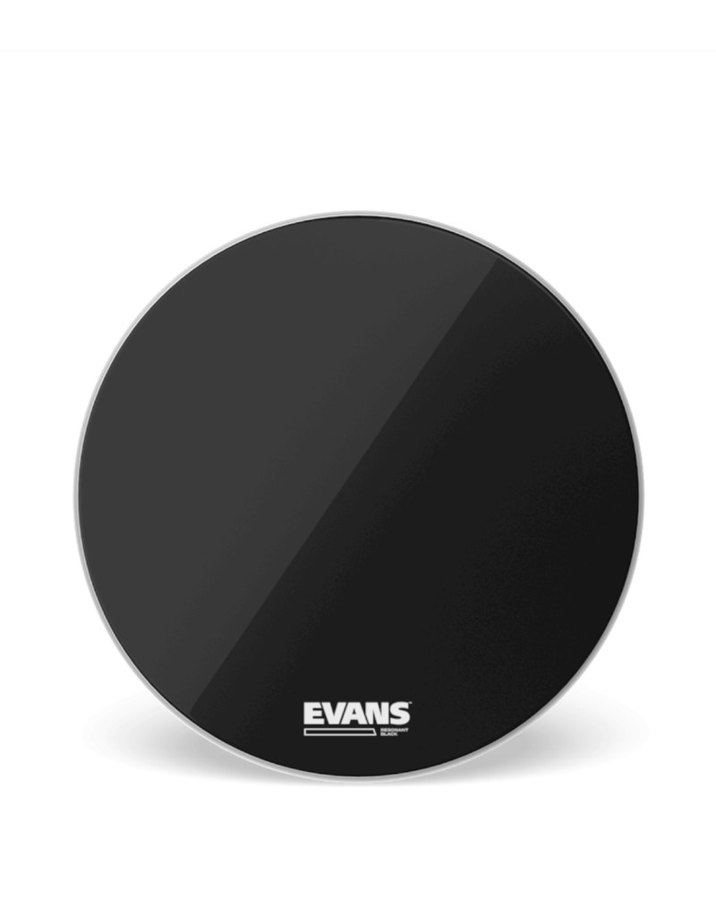"Evans Evans RESONANT BLACK 22"" Bass Drumhead"