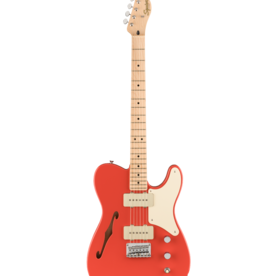 Squier Squier Paranormal Cabronita Telecaster® Thinline, Maple Fingerboard, Fiesta Red