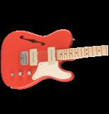 Squier Squier Paranormal Cabronita Telecaster® Thinline, Maple Fingerboard, Fiesta Red