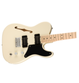 Squier Squier Paranormal Carbronita Telecaster® Thinline, Maple Fingerboard, Olympic White