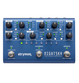 Strymon Strymon NightSky Time-Warped Reverberator Pedal