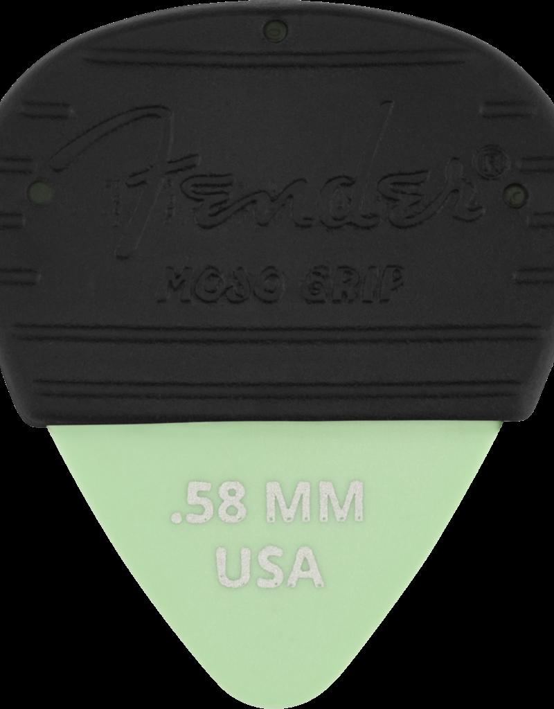 Fender Fender Mojo Grip Picks, Dura-Tone Delrin .58, 3-Pack