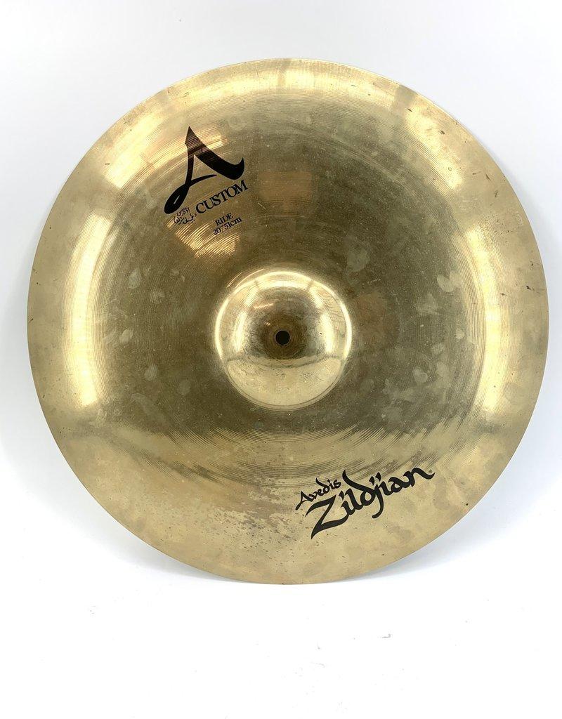 Zildjian Used Zildjian 20in A Custom Ride Cymbal