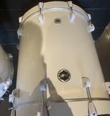 Used 5pc Crush Chameleon Drum Kit, White