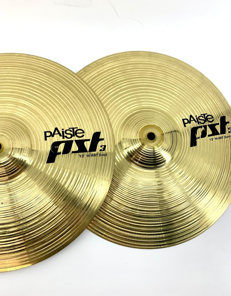 Used Paiste PST3 13in Hi Hats Pair