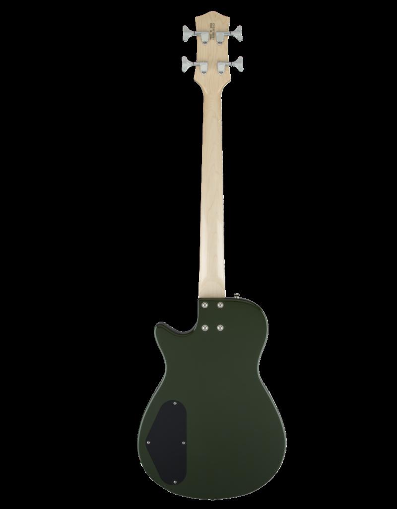 Gretsch Gretsch G2220 Electromatic® Junior Jet™ Bass II Short-Scale, Black Walnut Fingerboard, Torino Green