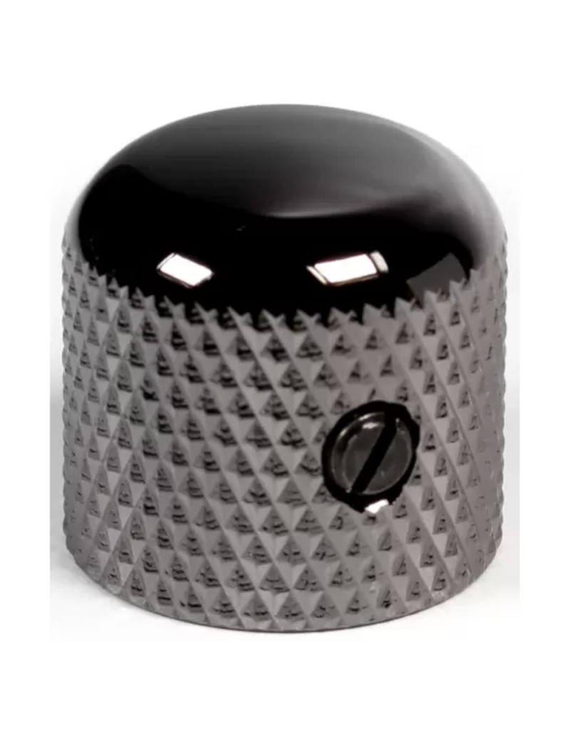 Gotoh Dome knurled knob cosmo black