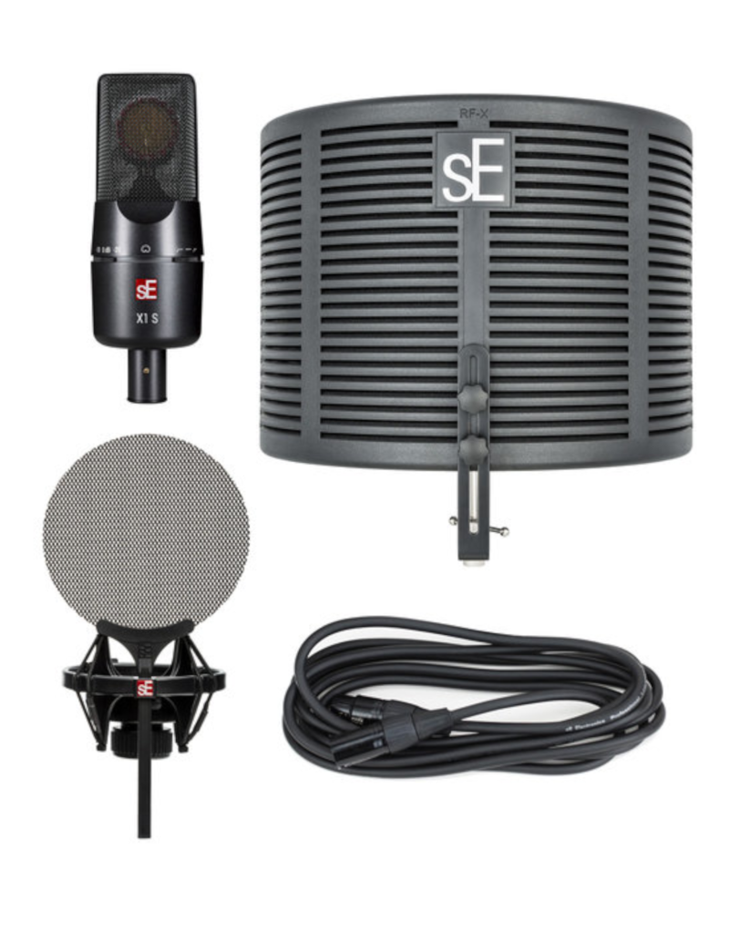 Se Electronics Se Electronics  X1 S Mic Studio Bundle W/ Rf-Xshockmount And Cable