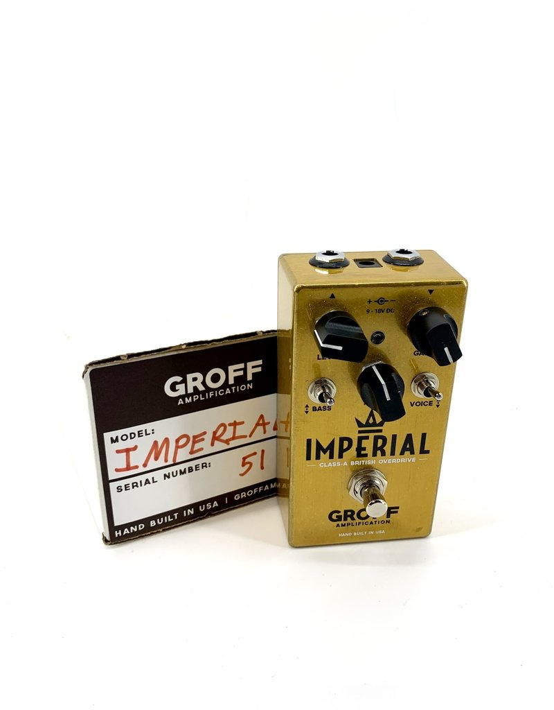 Used Groff Imperial British Overdrive Pedal