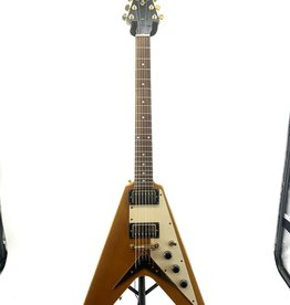 Epiphone Used Epiphone 1958 Korina Flying V Reissue Electric Guitar