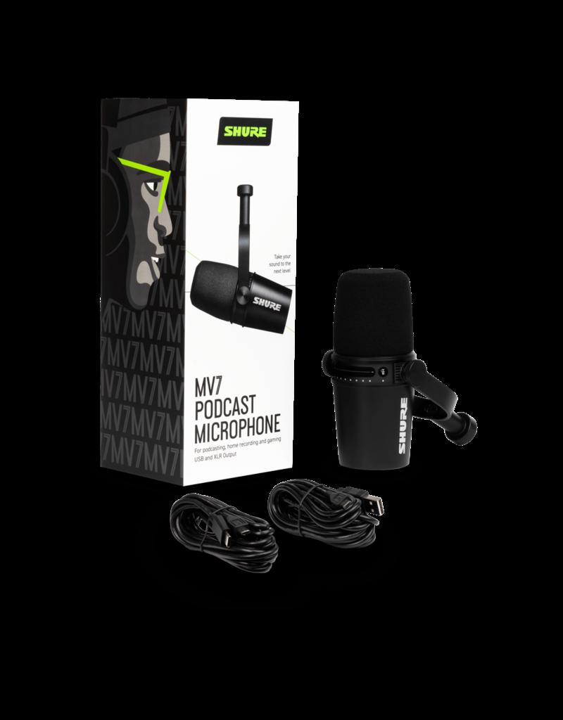 Shure Shure MV7 Podcast microphone black