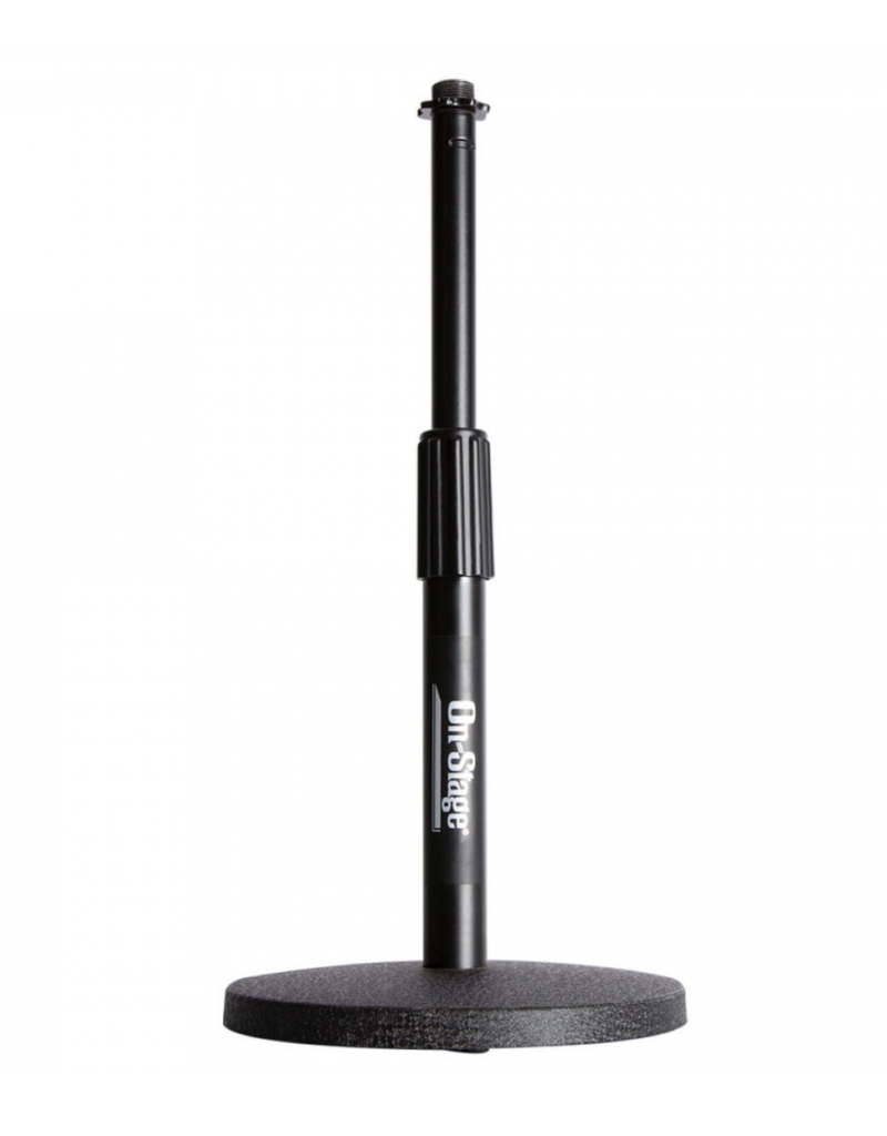 On-Stage DS7200B Adjustable Desktop Mic Stand