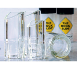 The Rock Slide The Rock Slide Glass Clear Medium