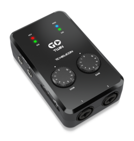 TC Helicon High-Definition 2-Channel Audio/MIDI Interface for Mobile Devices