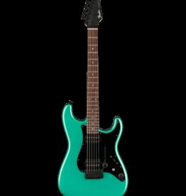 Fender Fender Boxer Series Stratocaster® HH, Rosewood Fingerboard, Sherwood Green Metallic