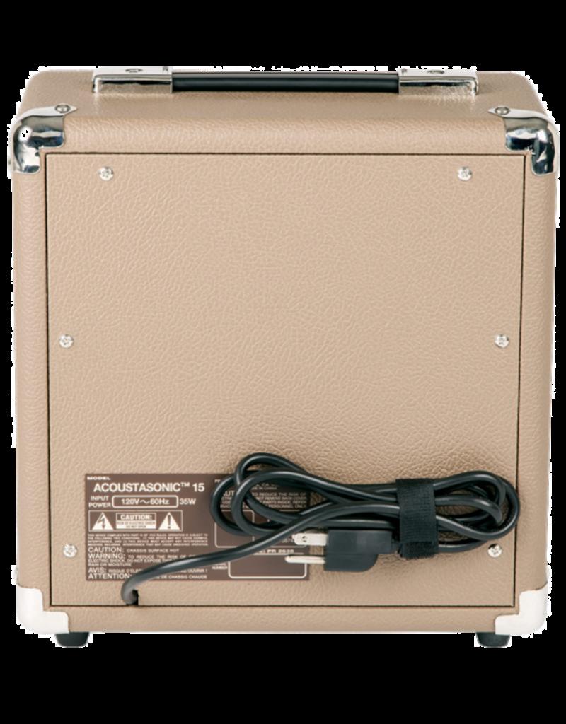 Fender Fender  Acoustasonic™ 15 Acoustic Amplifier