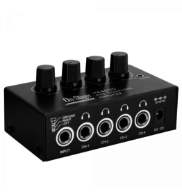 On Stage HA4000Four-Channel Headphone Amp