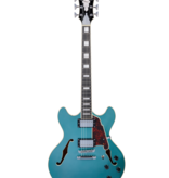 D'Angelico D'Angelico Premier DC Stoptail Ocean Turquoise