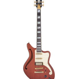 D'Angelico D'Angelico Deluxe Bedford SH LE Matte Walnut