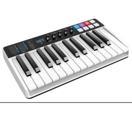iK Multimedia iRig Keys I/O 25-Key Keyboard Controller for Mac, PC and iOS