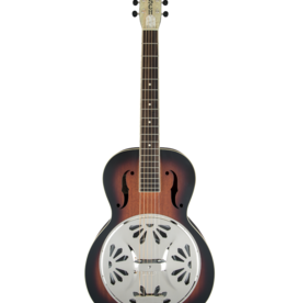 Gretsch Gretsch G9220 Bobtail™ Round-Neck A.E., Mahogany Body Spider Cone Resonator Guitar, Fishman® Nashville Resonator Pickup, 2-Color Sunburst