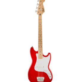Squier Squier Affinity Bronco Bass, Maple Fingerboard, Torino Red