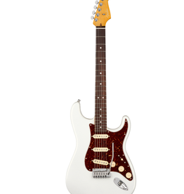 Fender Fender American Ultra Stratocaster, Rosewood Fingerboard, Arctic Pearl Electric Guitar
