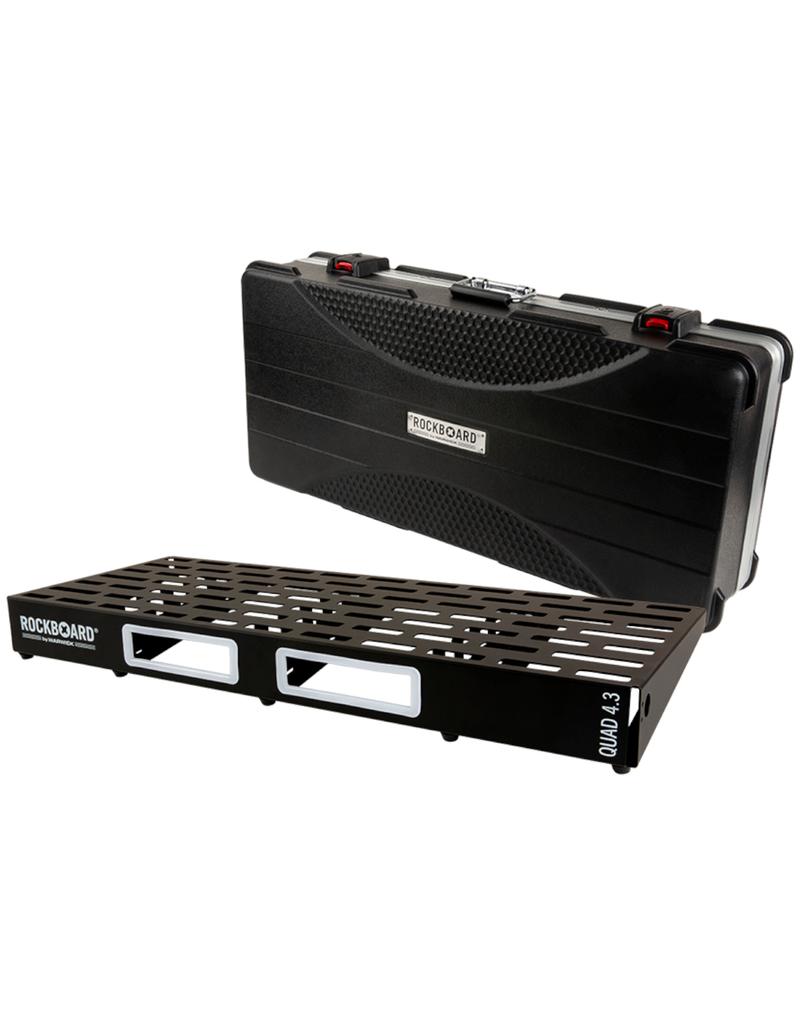 RockBoard RockBoard QUAD 4.3, Pedalboard with ABS Case