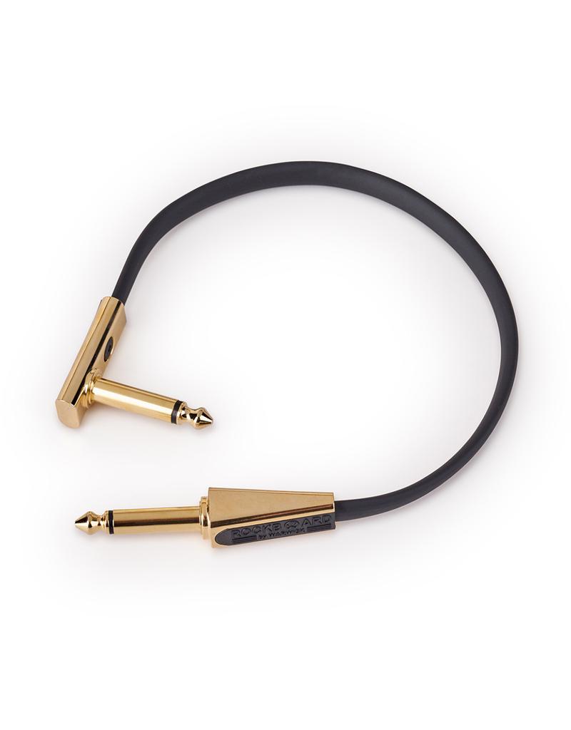 RockBoard RockBoard GOLD Series Flat Looper/Switcher Connector Cable, 20 cm