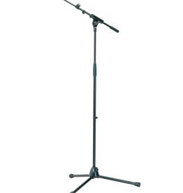 K&M Microphone Stand w/ Telescopic Boom Arm